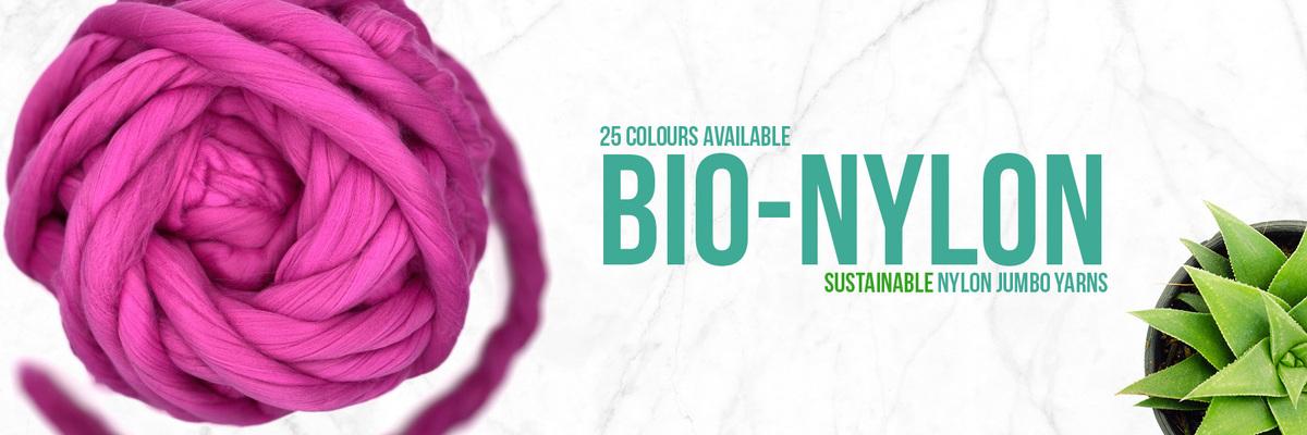 Sustainable Nylon Jumbo Yarns